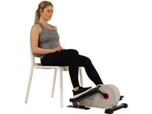 Sunny Health & Fitness Fully Assembled Magnetic Under Desk Elliptical