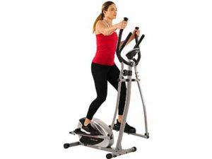 Sunny Health & Fitness SF-E905 Elliptical Machine Cross Trainer