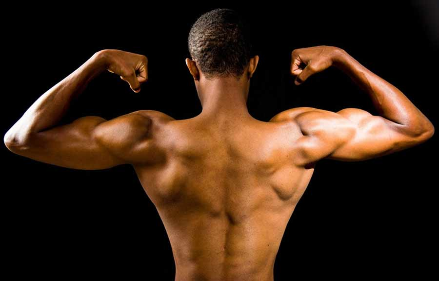 build muscles at home