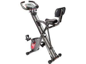 ADVENOR Exercise Bike Magnetic Bike Fitness Bike Cycle Folding Stationary Bike