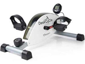 DeskCycle Under Desk Bike Pedal Exerciser – Mini Exercise Peddler