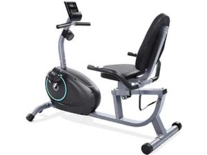 MARNUR Recumbent Exercise Bike Indoor Cycling Stationary Magnetic Home