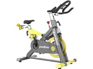 pooboo Commercial Standard Exercise Bike Magnetic Resistance Stationary Bike Indoor Cycling Bike