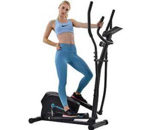 Merax Magnetic Elliptical Trainer Machine