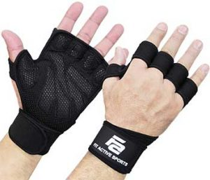 New Ventilated Weight Lifting Workout Gloves