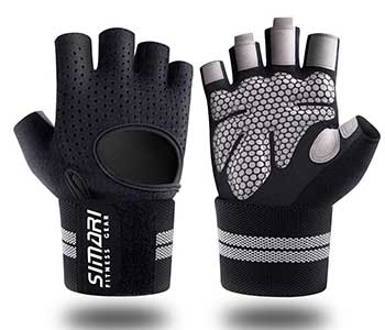 SIMARI Workout Gloves Mens and Women Weight Lifting Gloves with Wrist Support for Gym Training